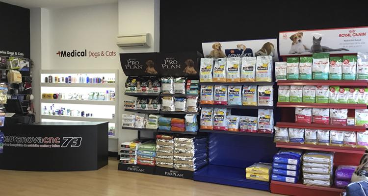 Instalaciones Tienda Mascotas